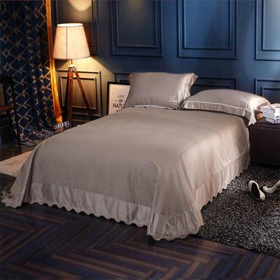 水洗真丝单品床单 250*250月牙边床单 布尔