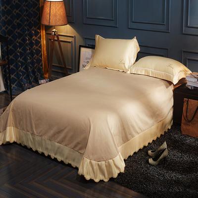 水洗真丝单品床单 250*250月牙边床单 莱加