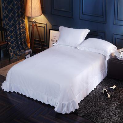 水洗真丝单品床单 250*250月牙边床单 素颜