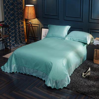 水洗真丝单品床单 250*250月牙边床单 叶语