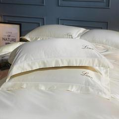 水洗真丝单品枕套 48cmx74cm枕套一对 半夏