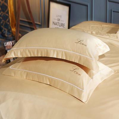 水洗真丝单品枕套 48cmx74cm枕套一对 莱加