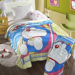 萌宝家纺-婴幼儿卡通双层盖毯水晶绒羊羔绒毛毯 150*200cm 小叮当