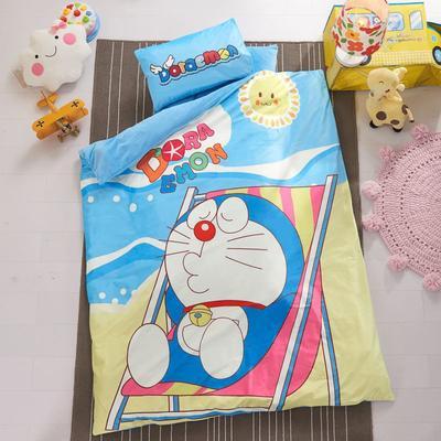 加厚保暖幼儿园被子三件套婴童6件套(水晶绒保暖系列) 棉花芯(垫芯1.5斤) 小叮当