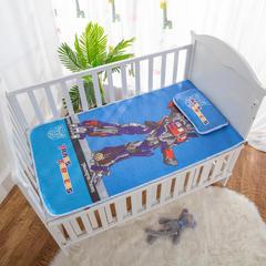 2019新款-幼儿园儿童凉席卡通冰丝席 冰丝小枕头(含荞麦壳)25*40cm 变形金刚