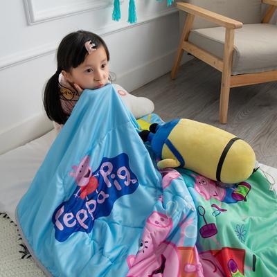 2019新款-爆款凉感天丝儿童夏凉被幼儿园夏被婴幼儿空调被 110*150cm 小猪一家