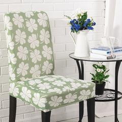 壹零 弹力椅子套 凳子套餐厅客厅饭店通用弹性椅套 漫漫飞雪