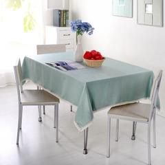仿麻桌布 90*90cm 水晶丝绒-雅蓝
