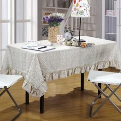 加厚桌布 台布 茶几布方桌布 餐厅客厅大桌布 90*90cm 秋意