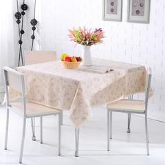 棉麻桌布 餐桌布 茶几布 台布 饭店桌布 130*130cm 七彩枝