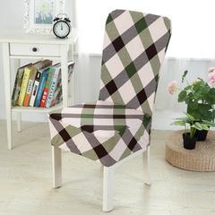 壹零 弹力通用椅套 餐厅椅子套 凳子套 宴会椅子套 田园平凡