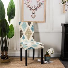 壹零 弹力通用椅套 餐厅椅子套 凳子套 宴会椅子套 雪绒花