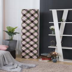 壹零 弹力柜式空调罩 立式空调套子  空调防尘罩 3-5P柜式空调通用 麻纹褐色
