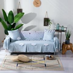 壹零 水洗棉薄款沙发罩 沙发巾 全盖型沙发套 单人规格200*200 丛林
