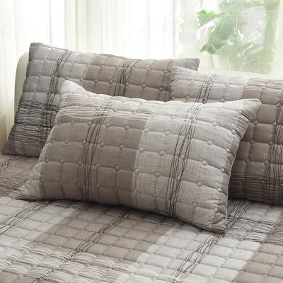 2019 新款磨毛夹棉枕套 48cmX74cm/对 品格