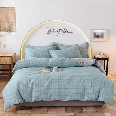 2020新款全棉12868系列四件套—床单四件套 1.2m床单款三件套 罗曼兰