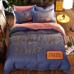 棉加绒四件套 标准(1.5米床) 巴赫猜想