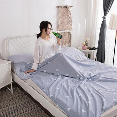 2019新款-水洗棉隔脏睡袋 慢时光120*220cm