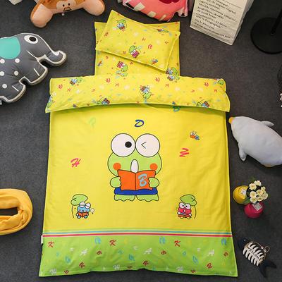 鱼宝 幼儿园大版花三件套(不含芯) 枕套30X50cm 青蛙王子
