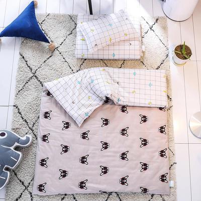 北欧风幼儿园套件  单品 枕套30*50cm 蝴蝶狗