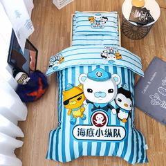 大版花幼儿园三件套最新花型   单品芯 棉花床垫芯60*120/60*135 海底小纵队