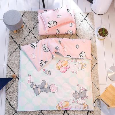 北欧风幼儿园套件  单品芯 枕芯【磨毛布 填充珍珠棉】 单车小象