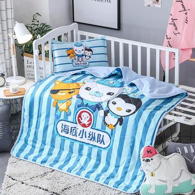 2018全棉大版花儿童夏被 单独枕套(含枕芯) 海底小纵队