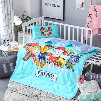 2018全棉大版花儿童夏被 单独枕套(含枕芯) 汪汪家族