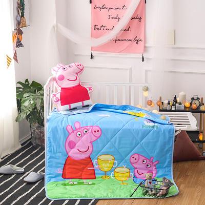 2018全棉大版花儿童夏被 单独枕套(含枕芯) 干杯佩奇