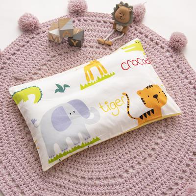 2019新款YB棉加绒枕头(30*50cm) 枕套+珍珠棉枕芯 动物乐园