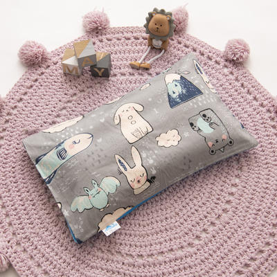2019新款YB棉加绒枕头(30*50cm) 枕套+珍珠棉枕芯 海底世界