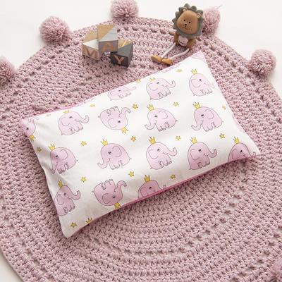 2019新款YB棉加绒枕头(30*50cm) 枕套+决明子枕芯 皇冠小象