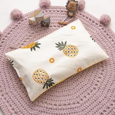 2019新款YB棉加绒枕头(30*50cm) 枕套+珍珠棉枕芯 小菠萝