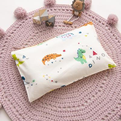 2019新款YB棉加绒枕头(30*50cm) 枕套+珍珠棉枕芯 小恐龙