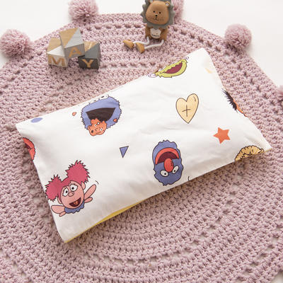 2019新款YB棉加绒枕头(30*50cm) 枕套+珍珠棉枕芯 芝麻乐园