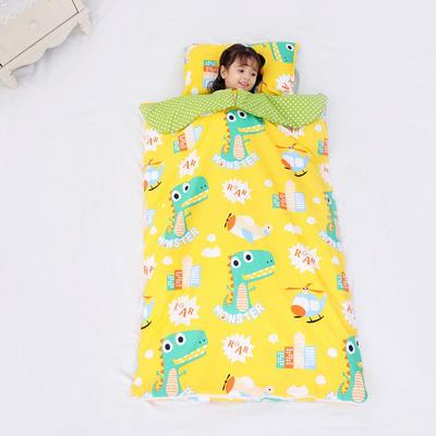 2019新款全棉款睡袋(模特图)-90*150 恐龙奇奇(睡袋皮子)