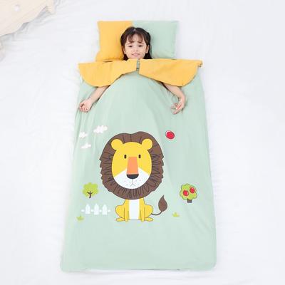2019新款愫棉款睡袋-90*150 狮子卡卡(丝绵双胆)