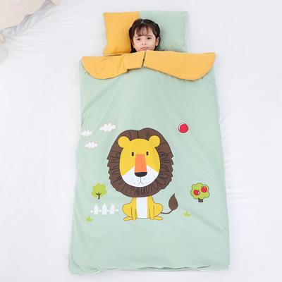 2019新款愫棉款睡袋-90*150 狮子卡卡(棉花厚)
