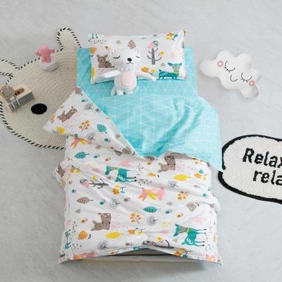 AB版幼儿园套件 丝棉款  (6件套) 小鹿物语