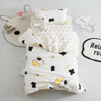 AB版幼儿园套件 丝棉款  (6件套) 小奶牛