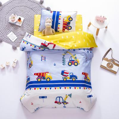 AB版幼儿园套件 丝棉款  (6件套) 小小挖掘机