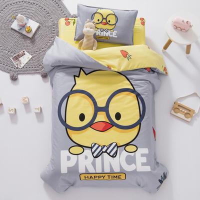 AB版幼儿园套件 丝棉款  (6件套) 快乐小鸡