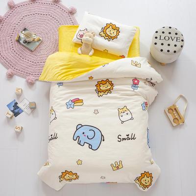 2020新款-幼儿园棉加绒印花套件小版 单被套 森林王国