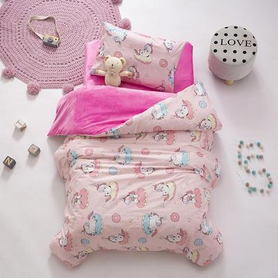 2020新款-幼儿园棉加绒印花套件小版 单被套 甜甜圈