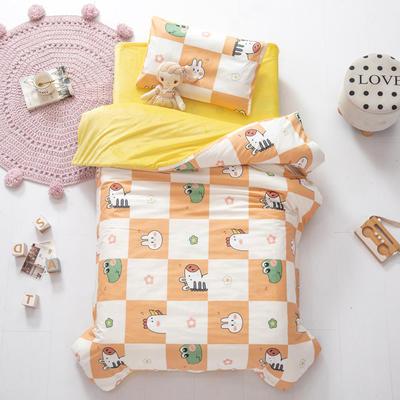 2020新款-幼儿园棉加绒印花套件小版 单被套 跳房子