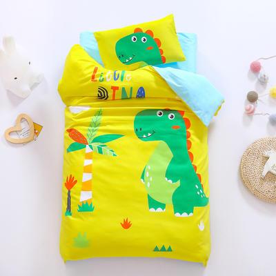 2021A类数码印花婴童套件 套餐二    2斤丝绵芯六件套 假日恐龙