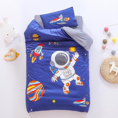 2021A类数码印花婴童套件 套餐二    2斤丝绵芯六件套 宇航员