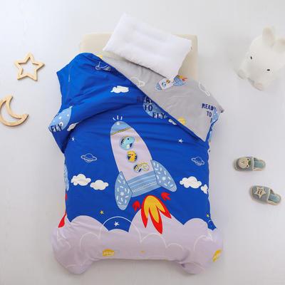 2021全棉无荧光幼儿园套件 3斤丝棉款六件套 星空火箭
