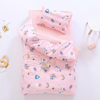 2021新款60支贡缎全棉婴童套件长绒棉儿童套件 被套 城堡乐园