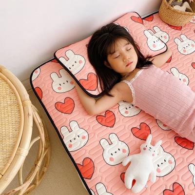 2021新款-儿童凉感乳胶席 60*120cm 爱心兔
